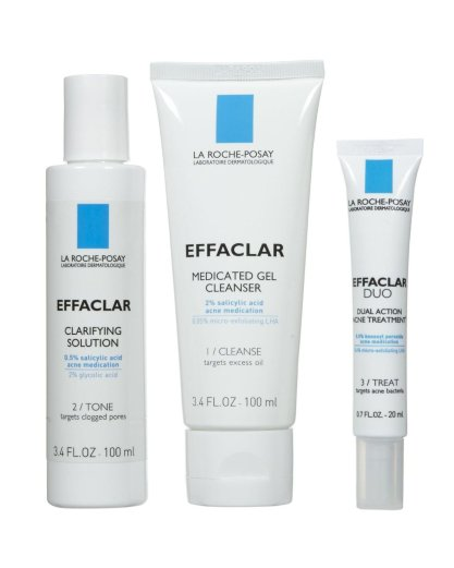 Image result for La Roche-Posay Effaclar Dermatological Acne Treatment System